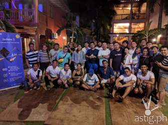 PixelMaster master class group photo at Boracay opening taken on ZenFone 5 by Den Uy of TechKuya