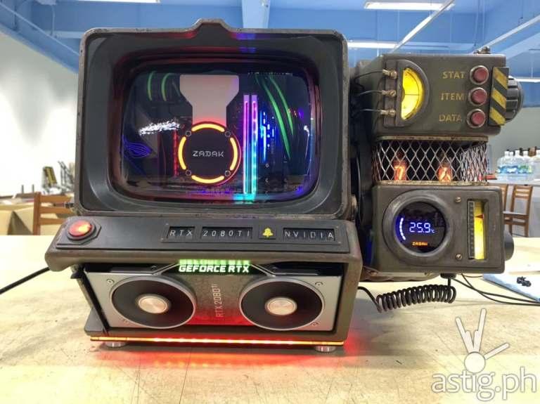 Fallout 76 Pip Boy custom PC build AK ZADAK NVIDIA (7)