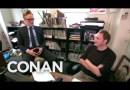 Conan Gives Staff Performance Reviews – CONAN on TBS