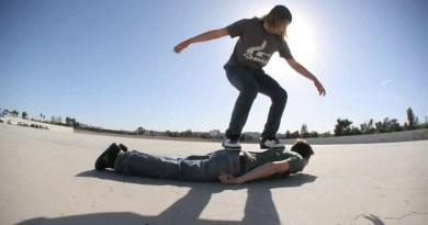 The Human Skateboard
