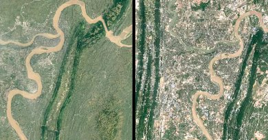 Google Timelapse Traces 32 Years of Construction and Destruction