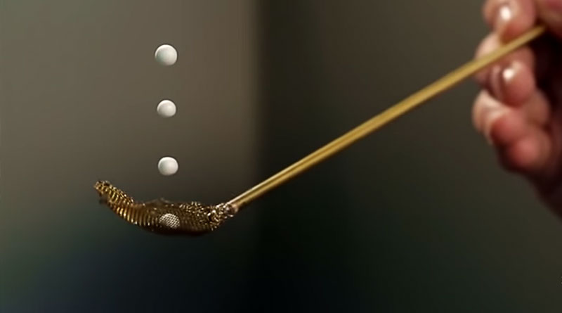 These Droplets Are Suspended by Sound