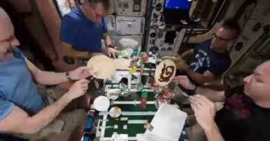 Pizza Night on the Space Station