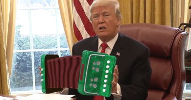 Watch Donald Trump Playing an Accordion