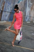 Bold and Bright Basics - The Shift Dress