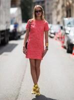 Embracing Brights - Shift Dress