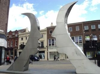 Sculpture back
