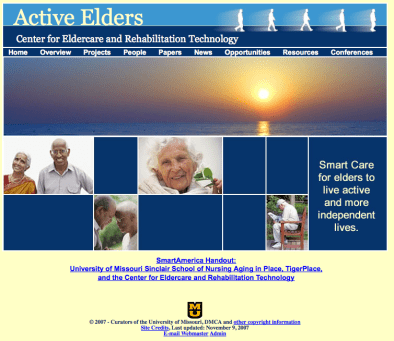 Eldertech Homepage