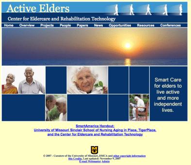 Eldertech Homepage