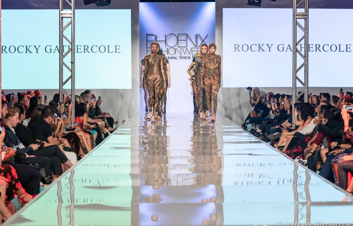 Rocky Gathercole Closes Phxfw Show With Angels Collection Ss19 Act I As Told By Aggie