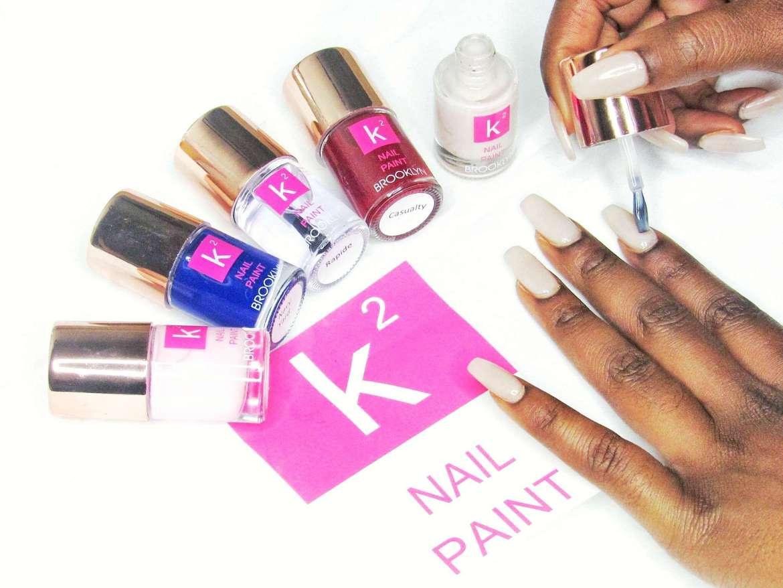 k squared nail paint