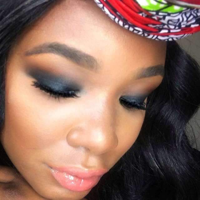 A look Eyes morphebrushes Shadow Single Coal morphebrushes  nyxcosmeticshellip