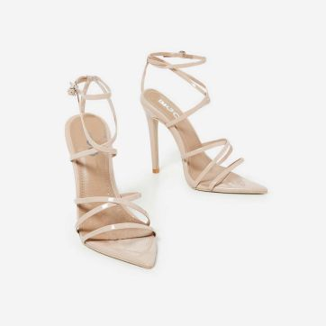 Kaia Pointed Barely There Heel