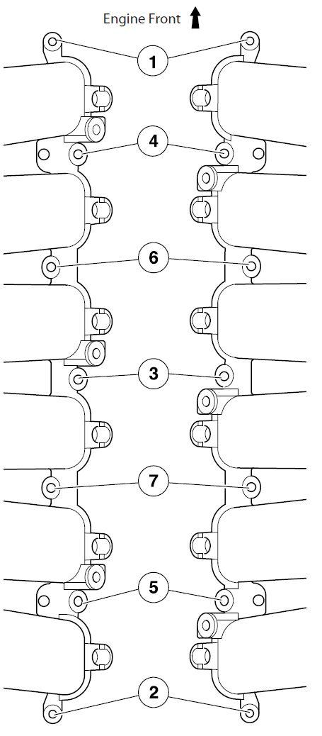 Installing the Intake Manifolds into an Aston Martin DB9