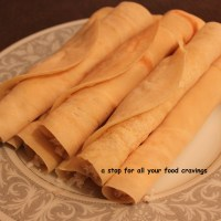 Mutta Churul  / Coconut Filled Crepes