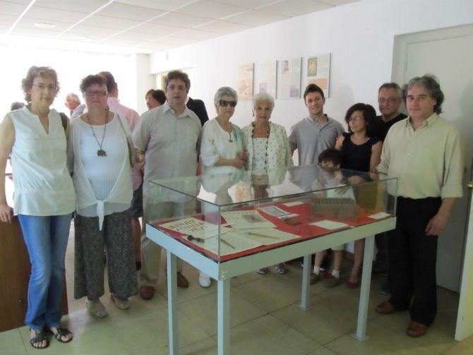 En el homenaje se dieron cita varias generaciones de familiares de Ángel Julián Rubio (fotografía de astorgaredaccion.com)