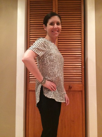 Stitch Fix, A Storybook Life, Daniel Rainn Bellaire Crew Neck Blouse