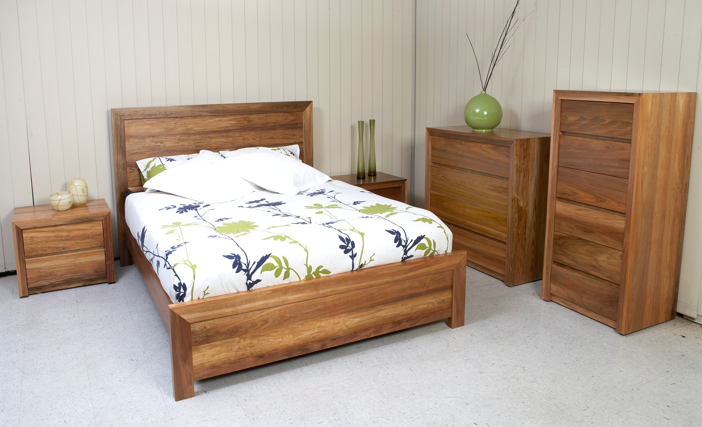 Photograph of Astra Furniture Madison bedroom range crafted from solid Tasmanian Blackwood
