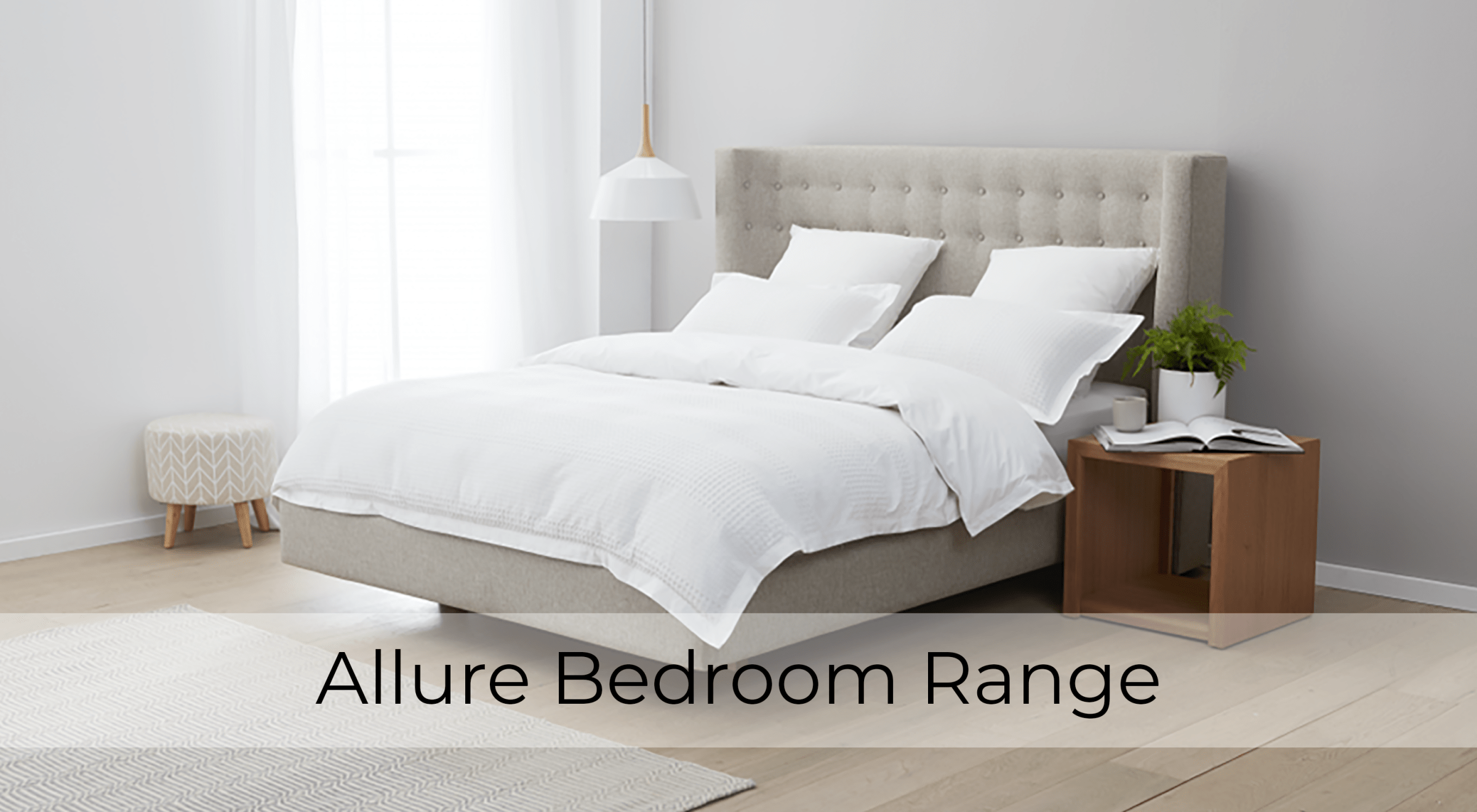 Allure Tasmanian Oak Bedroom Furniture