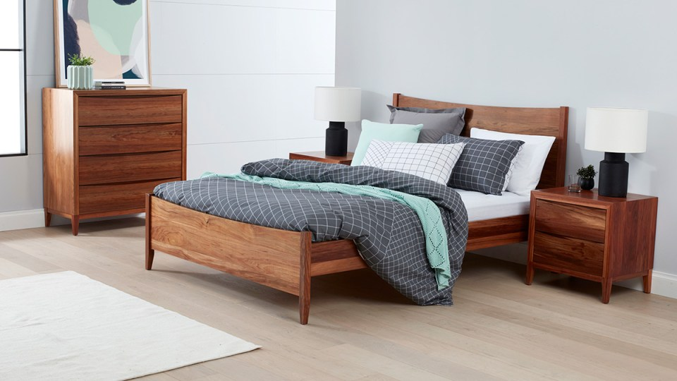 Bolton Tasmanian Blackwood Bedroom Furniture