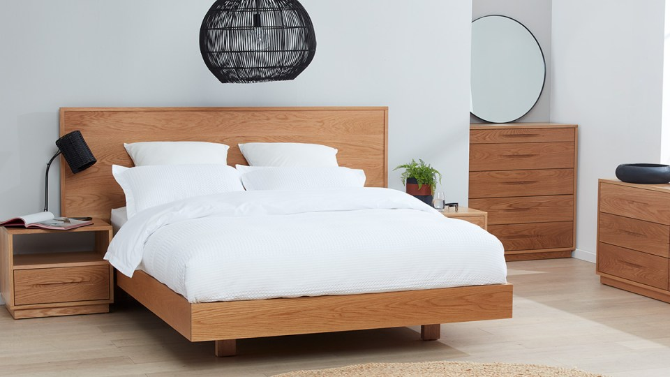 Cuba American Oak Bedroom Furniture