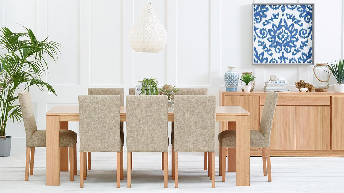 Madison Tasmanian Oak Dining Room Furniture by Astra Furniture