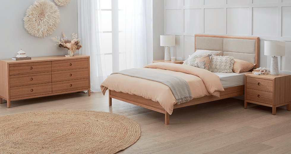 Airlie Tasmanian Oak Suite by Astra Furniture