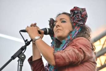 Simone Alves Astrakan Project concert FMM Sines Portugal