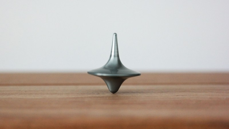 spinning top inecption