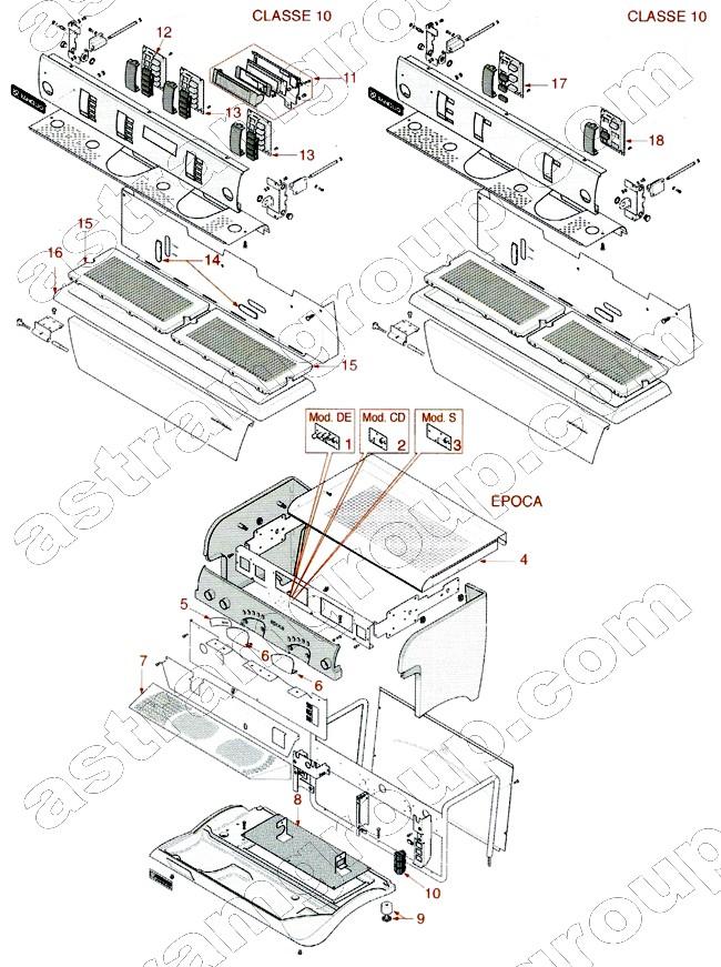 Classe 8 De Electronics Classe 8 Parts