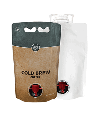 liquid packaging revolution - cold brew coffee