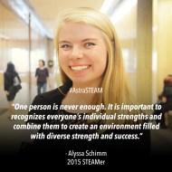 Alyssa Schimm 15'