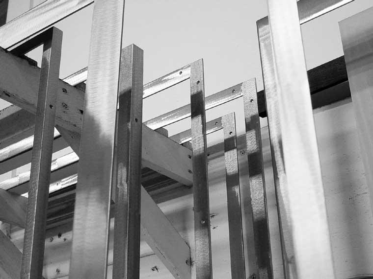 Welded Steel Picture Frames  A Street Frames