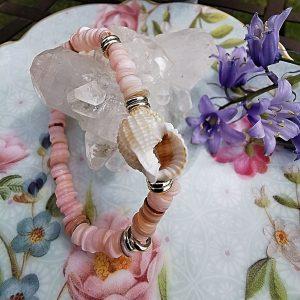 Nacre et coquillage bracelet