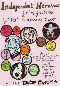 Independent Heroines film festival 2005, Bristol, England