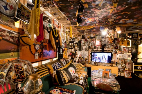 Denny DeLuca's Steeler Room in Whatever It Takes