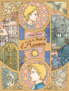 """Couverture de mon roman de fantasy """"Le Page de l'Aurore"""""""