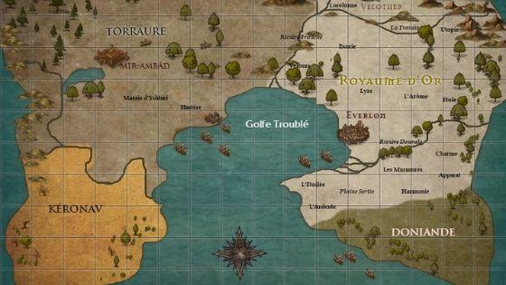 carte des royaumes désunis