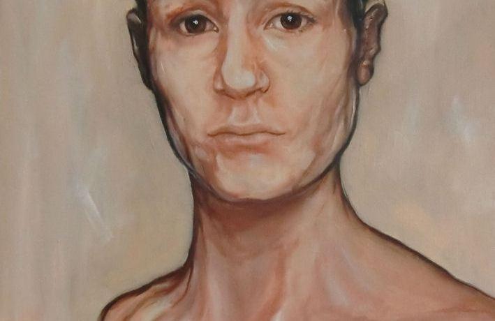 OgenBlik, Olieverf op canvas, 60 x 50 cm, 2012