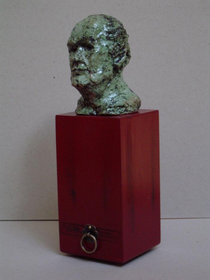 A.J. de Rie, Ceramic, 26 x 8 x 8 cm, 2006