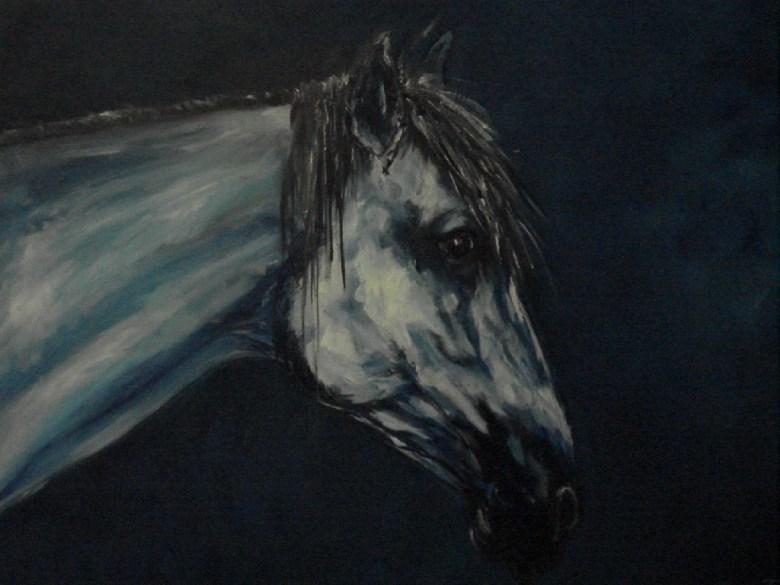 Witje, olieverf op canvas, 90 x 70 cm, 2008