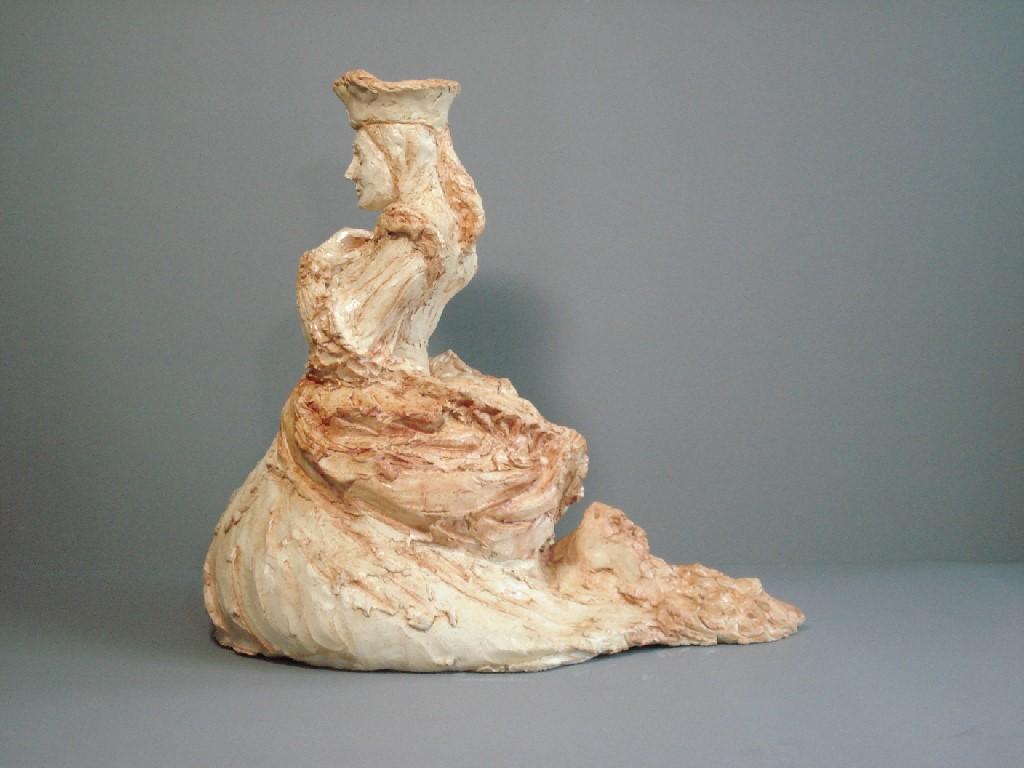 Faith, Keramiek, 30 x 22 x 30 cm, 2007, VERKOCHT