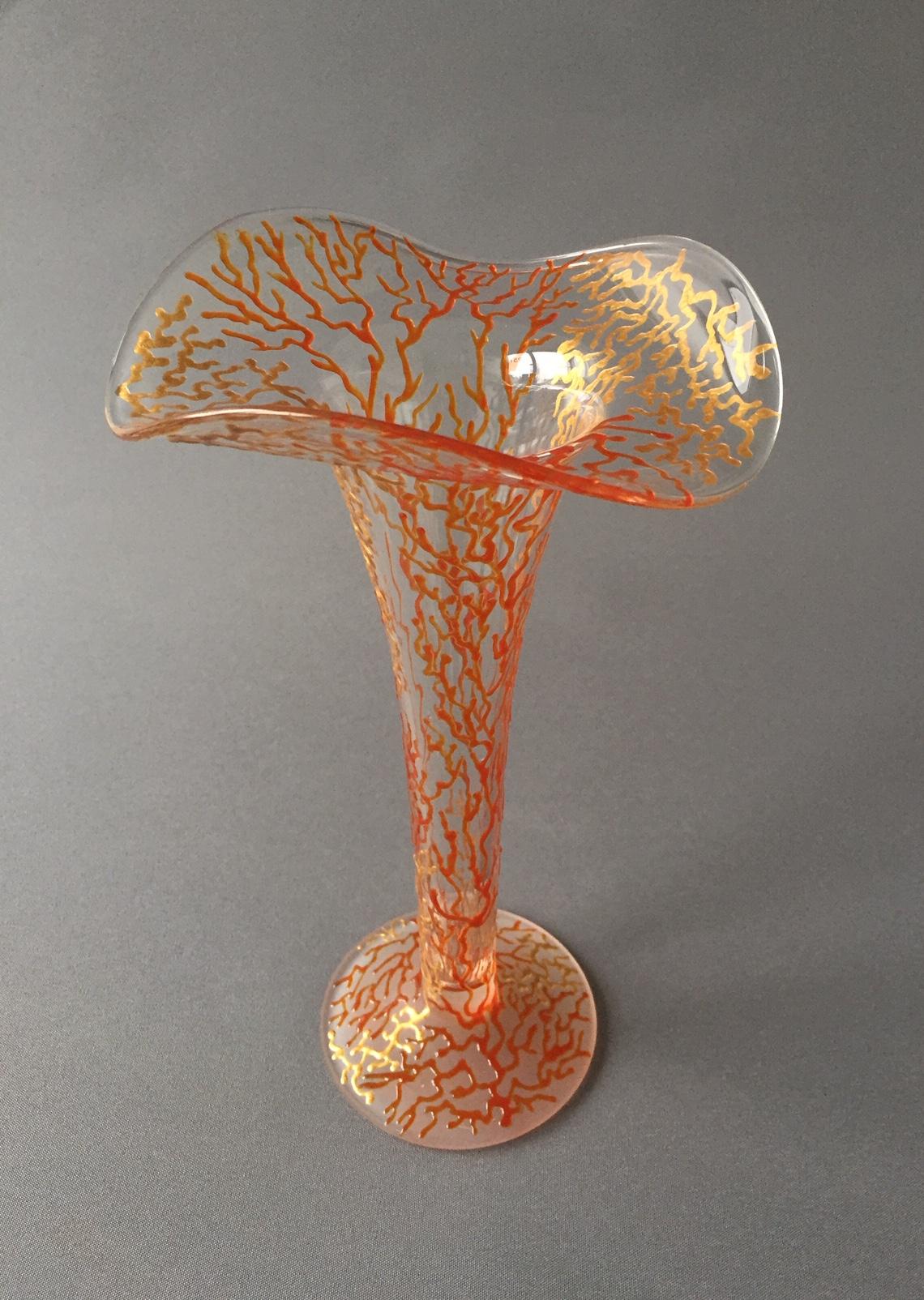 KraagVaas 'Tangerine Koraal' (medium)