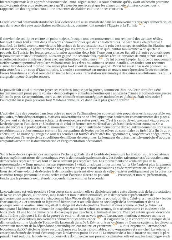Les foules raisonnables. Notes sur les mouvements sans parti ni leader des années 2010 et leur rappo-page-010