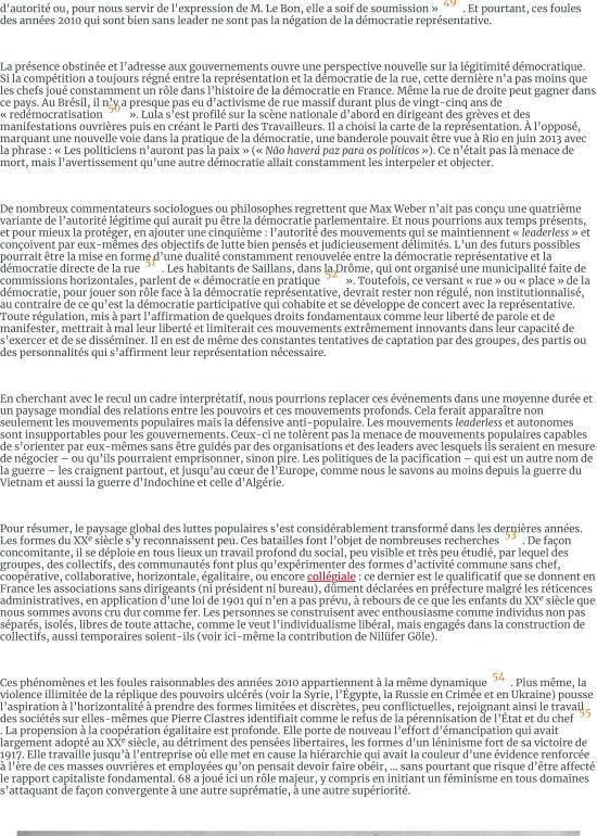 Les foules raisonnables. Notes sur les mouvements sans parti ni leader des années 2010 et leur rappo-page-011