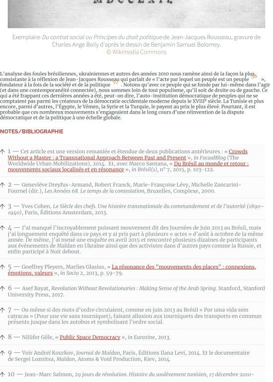 Les foules raisonnables. Notes sur les mouvements sans parti ni leader des années 2010 et leur rappo-page-013