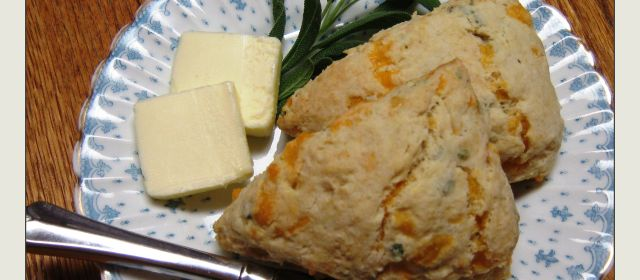 "Food Truckapalooza and ""Cheddar Sage Scones"""