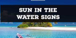 Sun in the water signs | Astrochologist.com