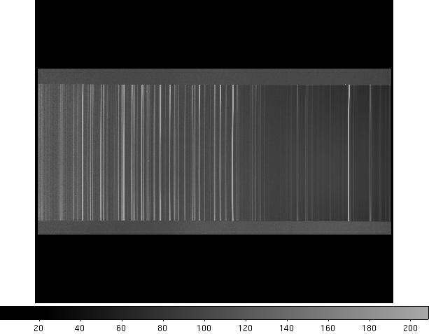 Espectro da Lâmpada de Cobre
