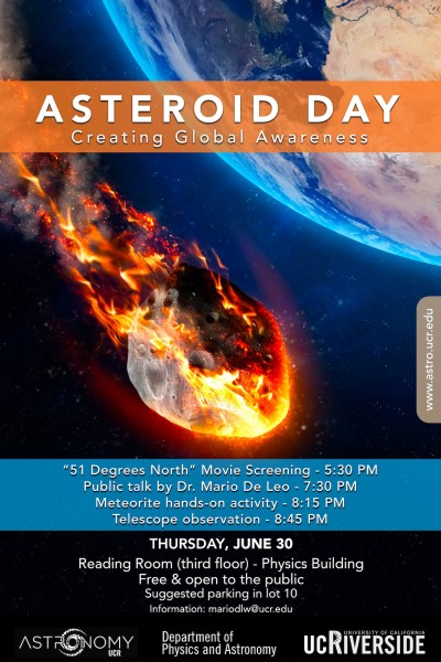 asteroid day compressed